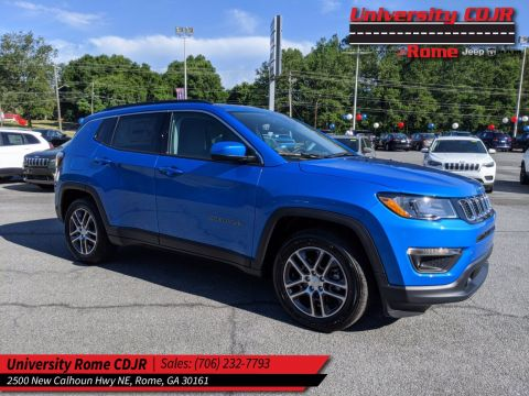 2020 JEEP Compass Latitude w/Sun/Safety Pkg