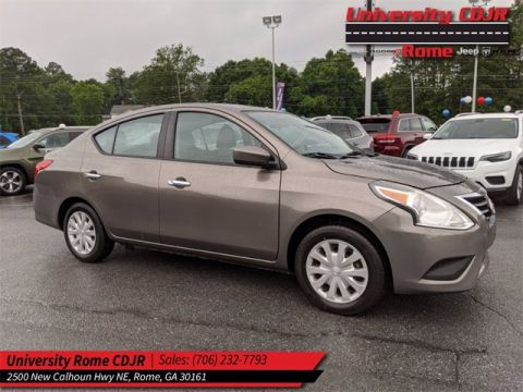 Pre-Owned 2017 Nissan Versa 1.6 SV FWD 4D Sedan